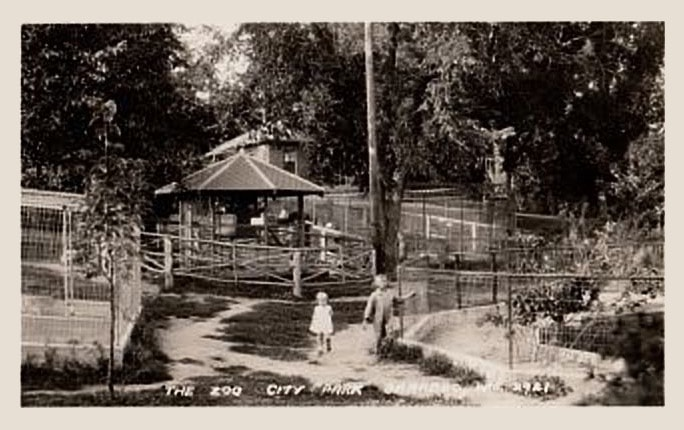 Vintage Photo of the Zoo