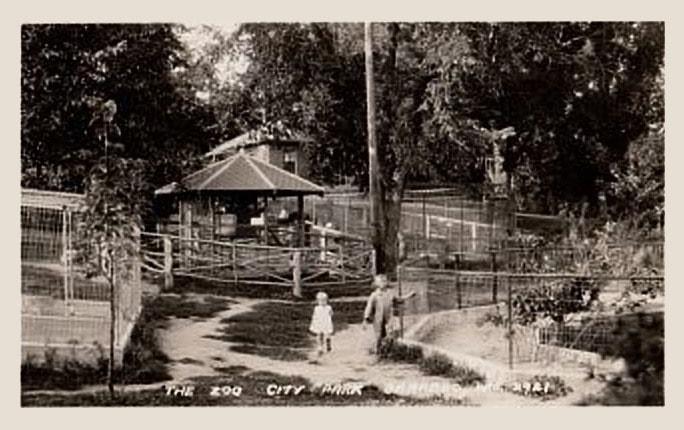 Vintage Zoo Photo